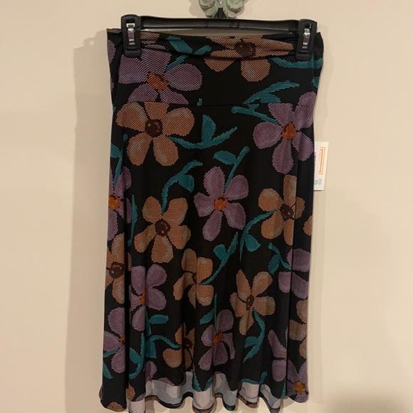 Lularoe Azure midi skirt size small